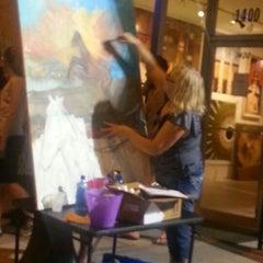 Photo taken at First Fridays Art Walk by Kristine S. on 8/4/2012