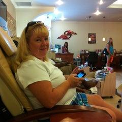 Photo taken at Floris Nail Salon by Louise G. on 7/21/2012