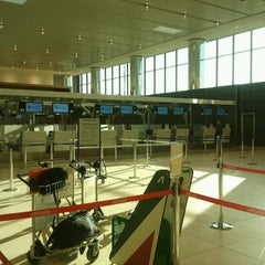 "Photo taken at Aeroporto di Firenze ""Amerigo Vespucci"" (FLR) by Dennis M. on 7/5/2012"