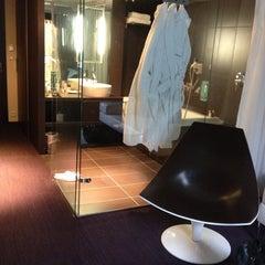 Photo taken at Le Rex Hôtel by Pascal G. on 4/28/2012