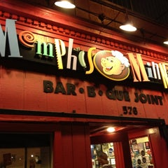 Photo taken at Memphis Minnie's BBQ by Vanessa P. on 3/2/2012