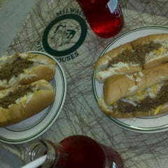Photo taken at Milwaukee Wiener House by Alexis W. on 3/20/2012