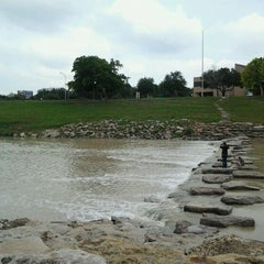 Photo taken at Trinity River Park by Michele on 6/7/2012
