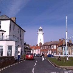 Photo taken at Southwold Lighthouse by Stuart M. on 4/6/2012