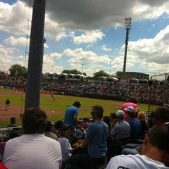 Photo taken at Pim Mulier Baseball Stadium by T. H. on 7/22/2012