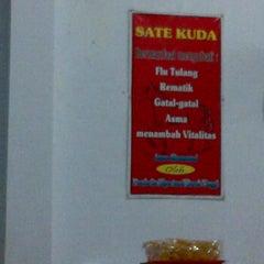 Photo taken at Sate kuda by Tiodora N. on 8/24/2012