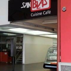 Photo taken at San Blas Cuisine Café by Alberto E. on 8/13/2012