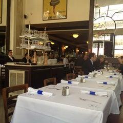 Photo taken at L'Entrecôte Saint-Jean by Amy T. on 4/18/2012