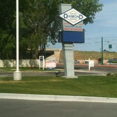 Photo taken at Diamond Airport Parking by Kathy S. on 5/22/2012