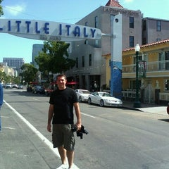 Photo taken at Little Italy by Carlos F. on 6/10/2012