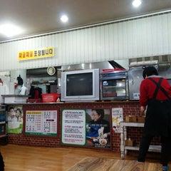 Photo taken at 옥산 백송식당 by Guk Tae K. on 1/12/2014