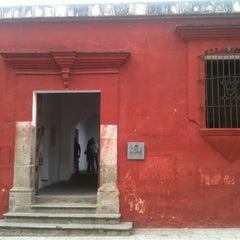 Photo taken at Instituto De Artes Gráficas De Oaxaca (IAGO) by Omar O. on 1/2/2013