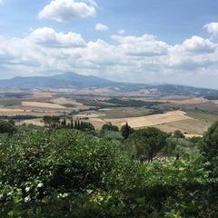 Photo taken at Pienza by Денис on 6/30/2015