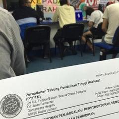 Photo taken at Ibu Pejabat PTPTN by Qhairunnina S. on 3/23/2015