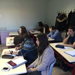 Photo taken at Final Dergisi Dershanesi by Aysel Y. on 2/7/2015