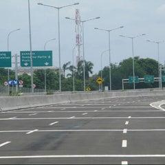 Photo taken at Jalan Tol Prof. DR. Ir. Sedyatmo by andriawandrgr on 10/28/2013