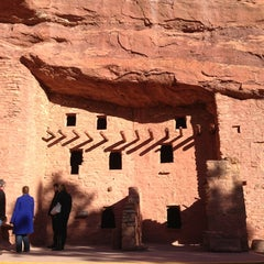Photo taken at Manitou Cliff Dwellings by Eman A. on 12/23/2012