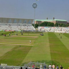 Photo taken at Trent Bridge Cricket Ground by Steven F. on 7/12/2013