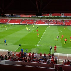 Photo taken at The City Ground by Steven F. on 7/20/2013