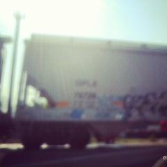 Photo taken at Hemphill train tracks by Patricio B. on 9/21/2012