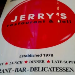Photo taken at Jerry's Famous Deli by Gregory C. on 1/3/2013