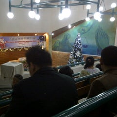Photo taken at HKBP tebet by Simon C. on 12/24/2012