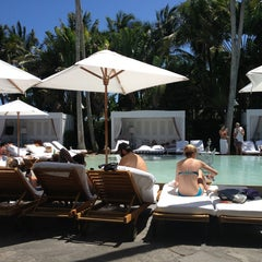 Photo taken at Delano South Beach by Nami C. on 4/19/2013