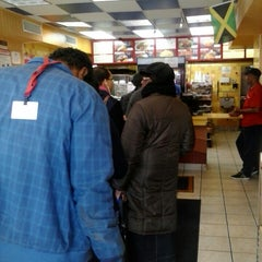 Photo taken at Golden Krust Caribbean Bakery and Grill by Kareem P. on 4/17/2014