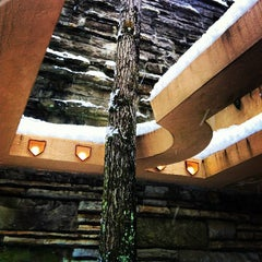Photo taken at Fallingwater by Justin T. on 12/29/2012