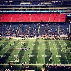 Photo taken at Gillette Stadium by Kevin V. on 1/13/2013