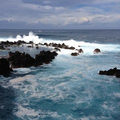 Photo taken at Piscinas Naturais do Porto Moniz by Marina on 10/22/2012