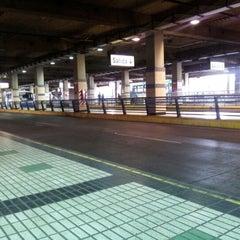 Photo taken at Estación Intermodal Bellavista de la Florida by Cristian P. on 1/1/2013