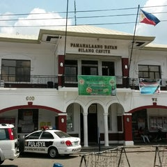 Photo taken at Silang Municipal Hall by Carl A. on 3/5/2014