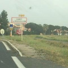 Photo taken at Canet en Roussillon by Thomas M. on 5/22/2014
