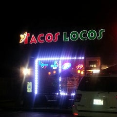 Photo taken at Tacos Locos by Nance on 10/4/2013