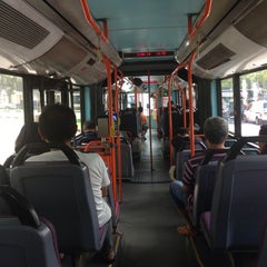 Photo taken at SMRT Buses: Bus 190 by Stewart Y. on 6/1/2014