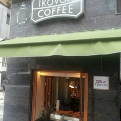 Photo taken at IKOVOX COFFEE by Yong ha K. on 9/16/2012