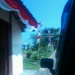 Photo taken at Tanjung Lesung by muii l. on 8/18/2013
