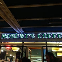 Photo taken at Robert's Coffee by Bedii D. on 5/14/2013