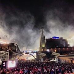 Photo taken at Gillette Stadium by Alex C. on 9/13/2013
