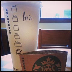 Photo taken at Starbucks by Aris O. on 6/10/2013
