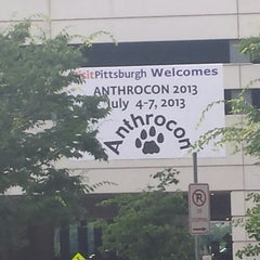 Photo taken at Anthrocon by Mark M. on 7/2/2013