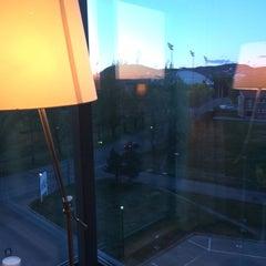 Photo taken at Scandic Helsfyr Hotel by Vlad B. on 4/30/2014