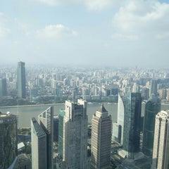 Photo taken at 金茂大厦 Jin Mao Tower by Sergey K. on 9/26/2015