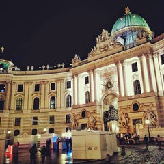 Photo taken at Hofburg Innsbruck by Markus W. on 11/28/2015