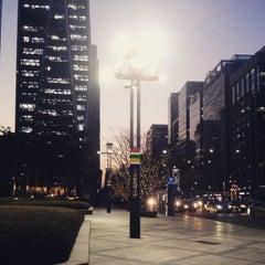 Photo taken at 포스코센터 (POSCO Center) by Kwangsoo P. on 12/30/2014