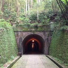 Photo taken at 明治宇津ノ谷隧道 by c4macaron on 5/23/2013