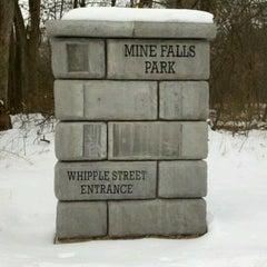 Photo taken at Mine Falls Park by John S. on 1/9/2013