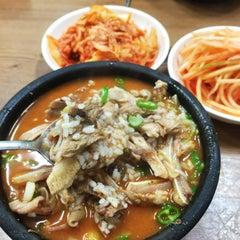 Photo taken at 아바이순대국 by D콩주장K on 2/14/2015