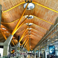 Photo taken at Aeropuerto Adolfo Suárez Madrid-Barajas (MAD) by Oriol on 7/18/2013